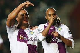 Fabian Delph and Gabby Agbonlahor