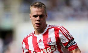 Injured Stoke captain Ryan Shawcross