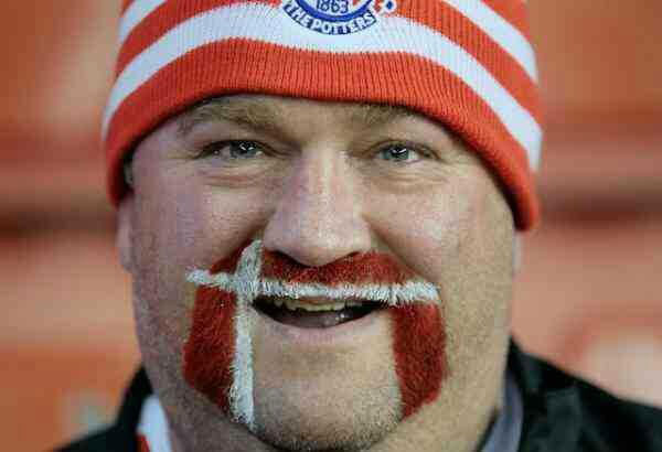 Hairy Potter – Stoke City´s most famous fan
