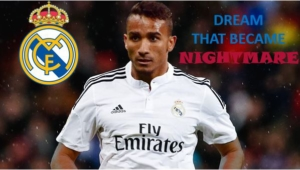 Danilo presentation day with Real Madrid