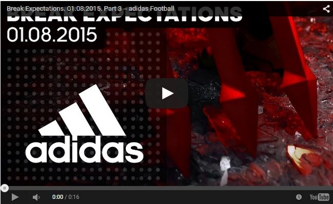 New Manchester United Adidas Commercial – Break Expectations