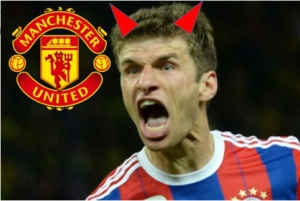 Thomas Muller transfer to Manchester United