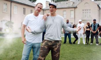 Manning Rapper Prop Bet