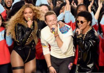 Coldplay Super Bowl 2016
