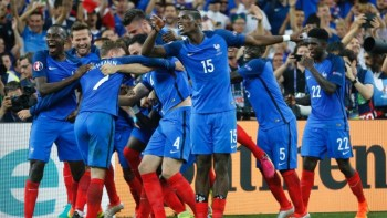 France vs England Euro Cup 2016 win