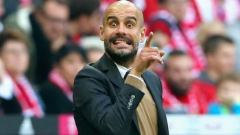 Manchester City Pep Guardiola manager