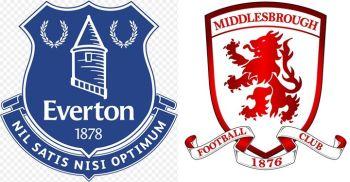 Top Half Clash - Everton v Middlesbrough