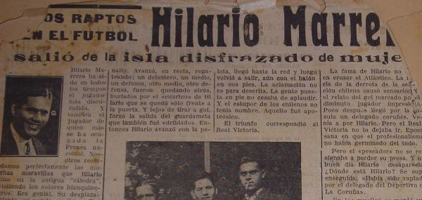 hilario marrero real madrid guerra civil 1936