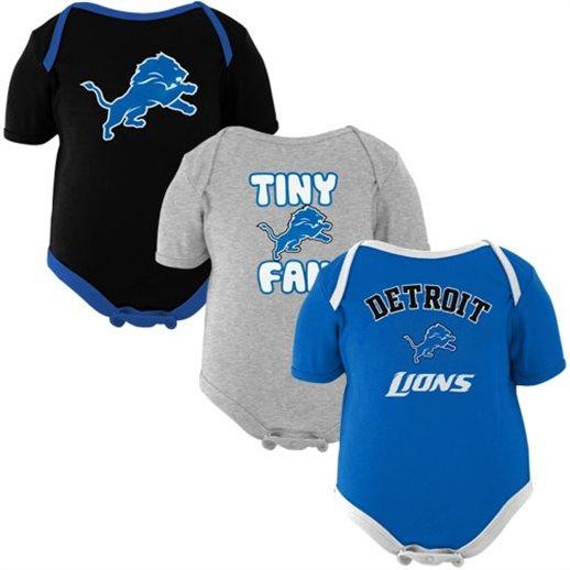 Detroit Tigers Lions Red Wings Baby Girl Boy Onesie