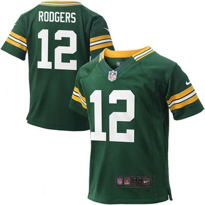 6282eb227 infant nfl jerseys aaron rodgers in image of the green bay packers 0-12 Mo