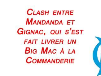 FootballFrance.fr - Clash Mandanda Gignac Big Mac