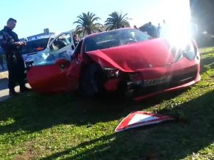m-baye-niang-montpellier,ferrari-accident-prevention-routiere