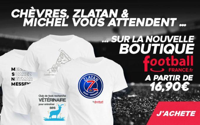 La boutique FootballFrance.fr est ouverte !