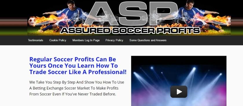 Assured Soccer Profits Football Betting System