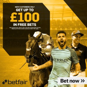 Betfair £100 Bet Bundle