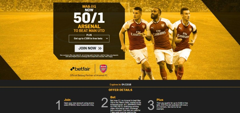 Football Betting Offers For New Customers