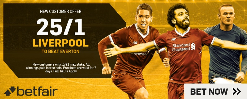 Liverpool New Betfair Customers Promo