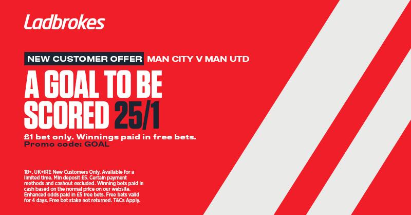 Manchester Derby Ladbrokes Promo