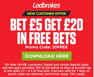 Ladbrokes New Customer Offers