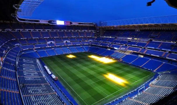 Bernabeu Stadium In Madrid