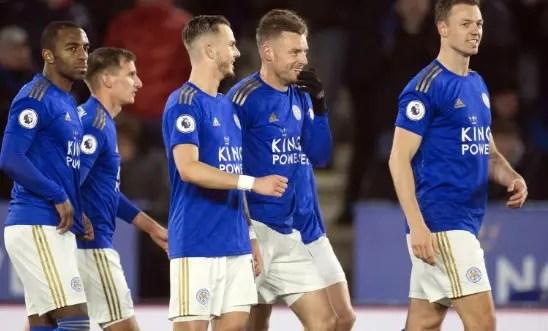 Leicester V Aston Villa March 2020