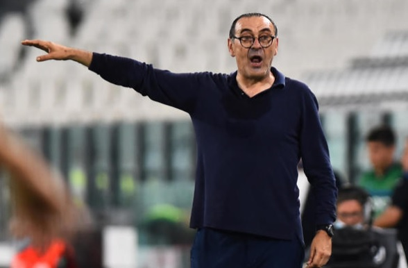 Maurizio Sarri Juventus Manager Serie A