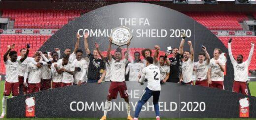 Arsenal win 2020 Community Shield