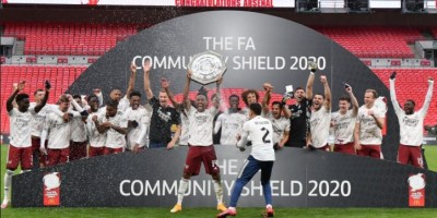 Arsenal win 2020 Community Shield