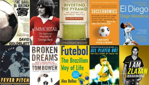 Books about football (soccer) - history, biographic, tactics and stats