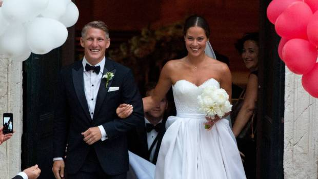 Bastian Schweinsteiger and Ana Ivanovic's Wedding