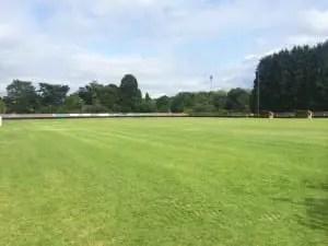 Bracknell Town's Larges Lane ground.