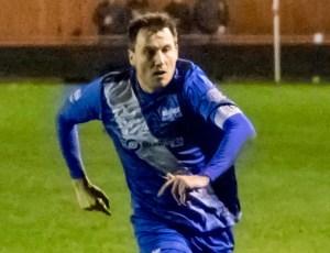 Binfield midfielder Carl Withers. Photo: Neil Graham.