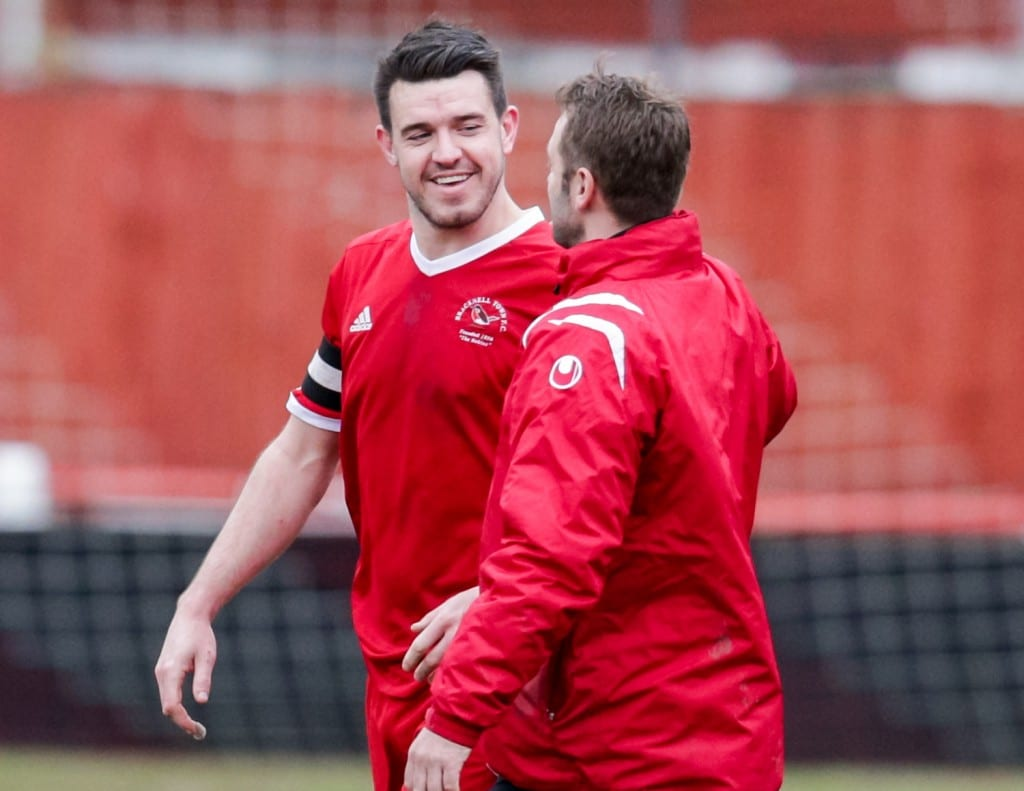Bracknell Town FC captain Carl Davies. Photo: Neil Graham.