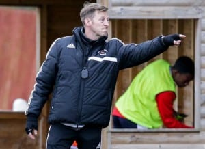 Bracknell Town manager Mark Tallentire. Photo: Neil Graham.