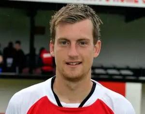 Bracknell Town youth team manager Dan Sleet.