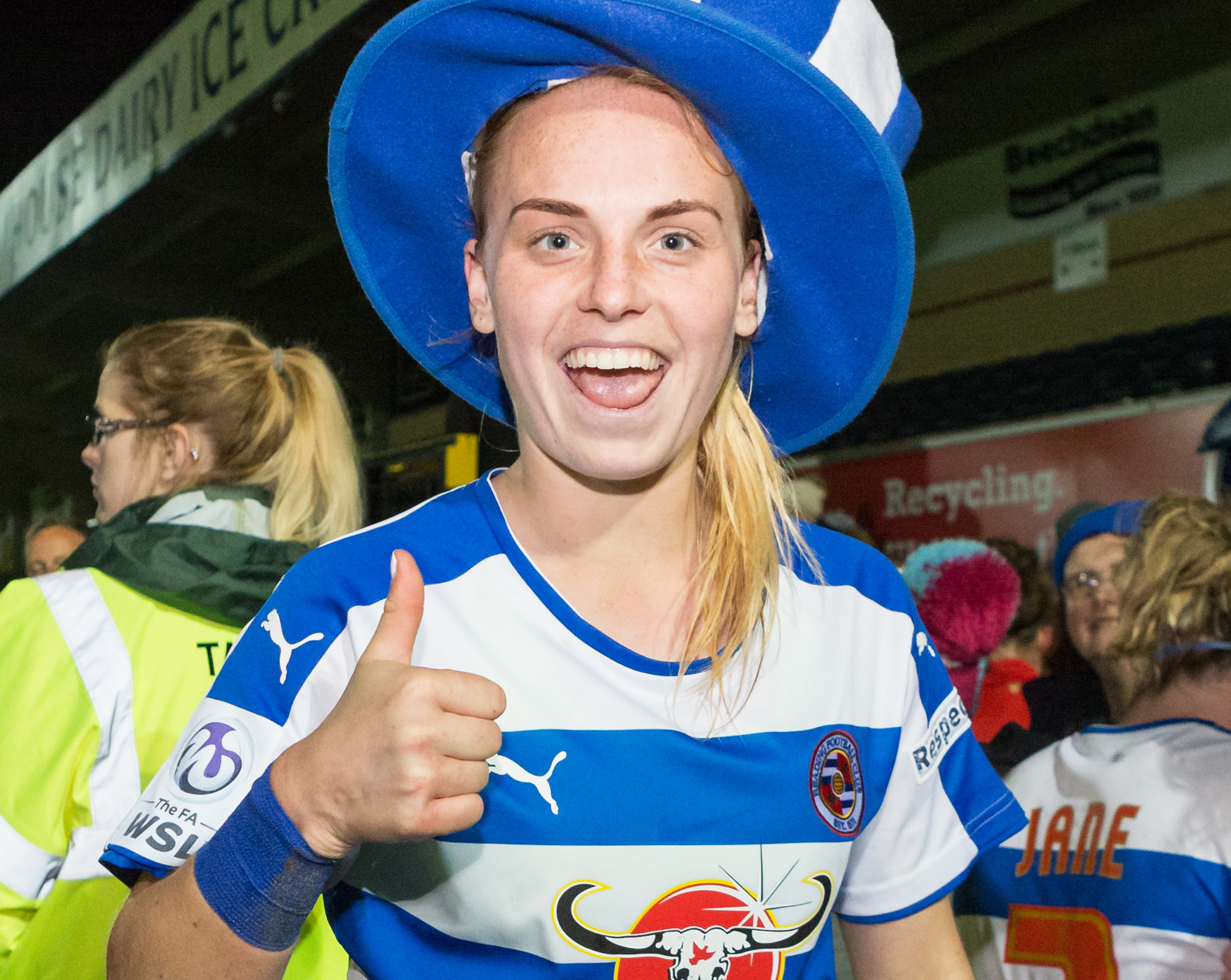 Reading FC Women's Molly Bartrip talks to Aimee Claypole
