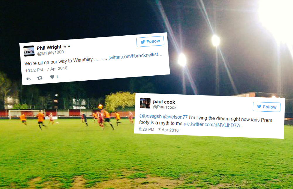 What you said about Bracknell Town's win over Wokingham & Emmbrook