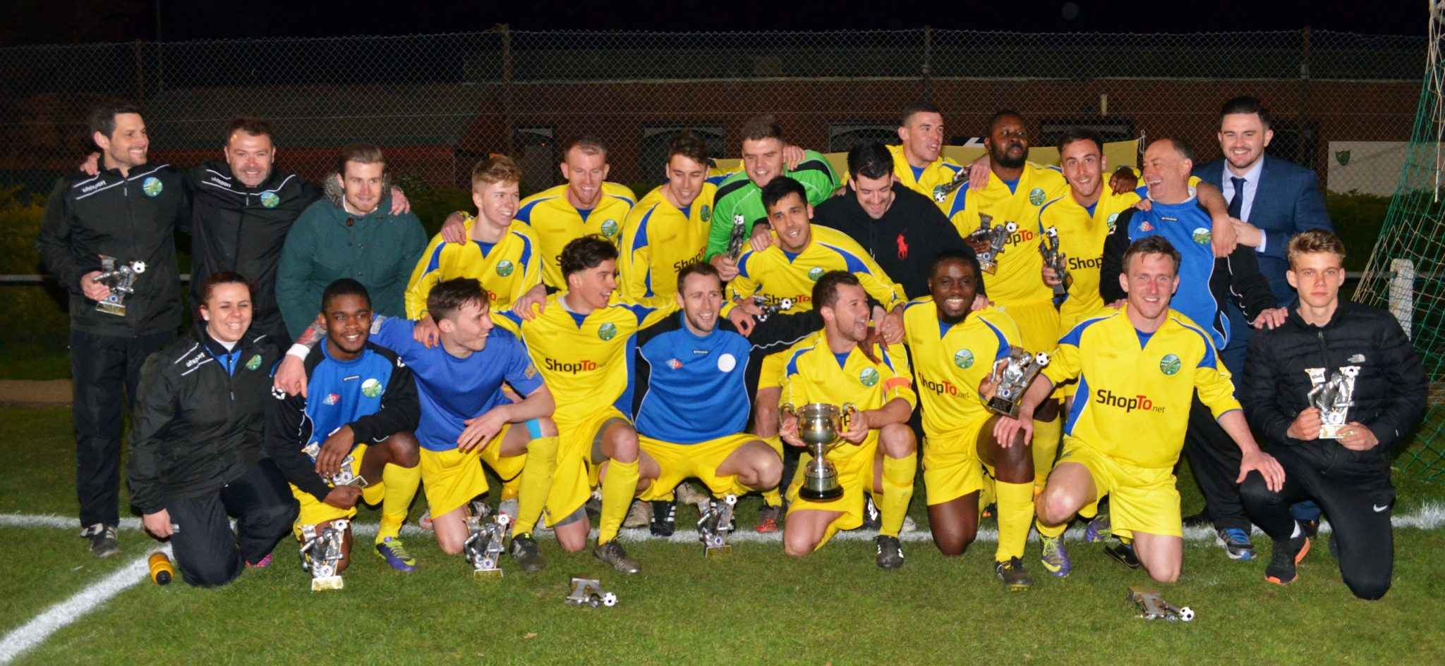 Photos from Ascot Uniteds Floodlit Cup win