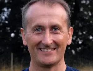 Binfield FC manager Roger Herridge. Photo: Colin Byers.
