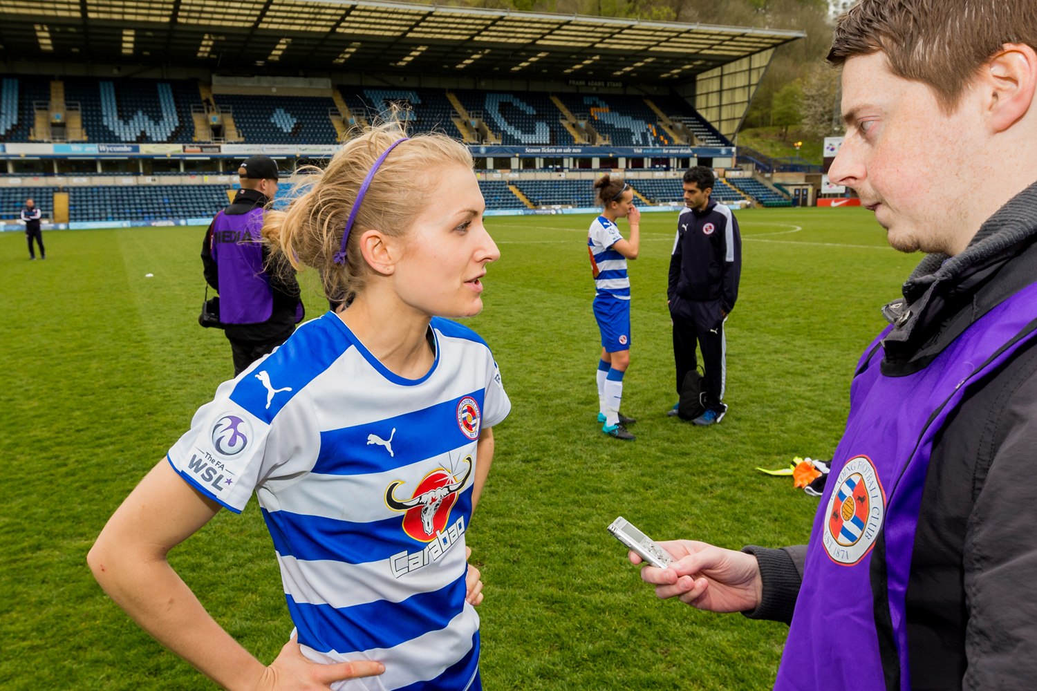 Reading FC Women 1 Notts County Ladies 1: Follis earns Royals a point