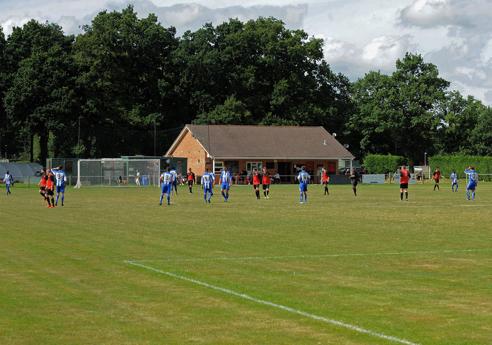 Sandhurst Town's Bottom Meadow ground. Photo: Mark Pugh.