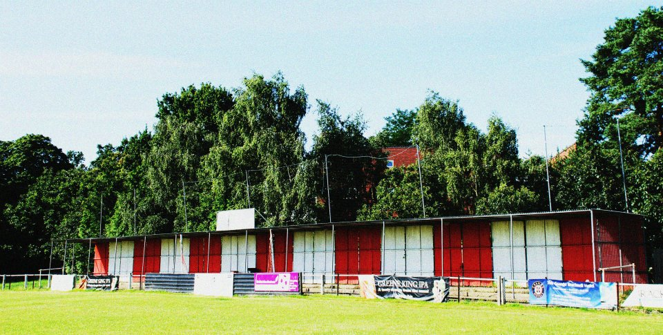 Larges Lane redevelopment: The Quinton Stand has come down