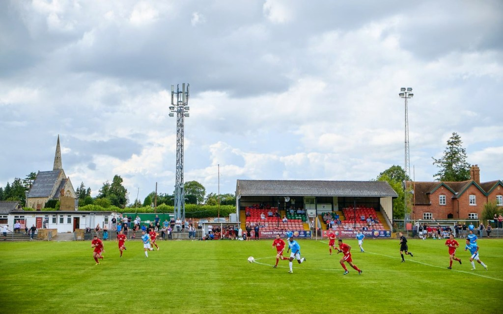 Windsor's Stag Meadow Ground. Photo: Windsor FC