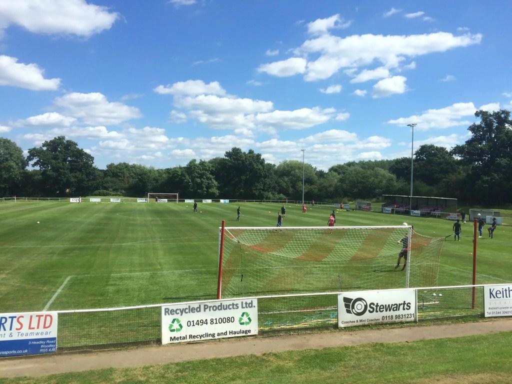 Binfield FC preparing Hill Farm Lane 2017 further development