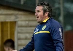 Royal Wootton Bassett Town FC boss Paul Braithwaite. Photo: Neil Graham.