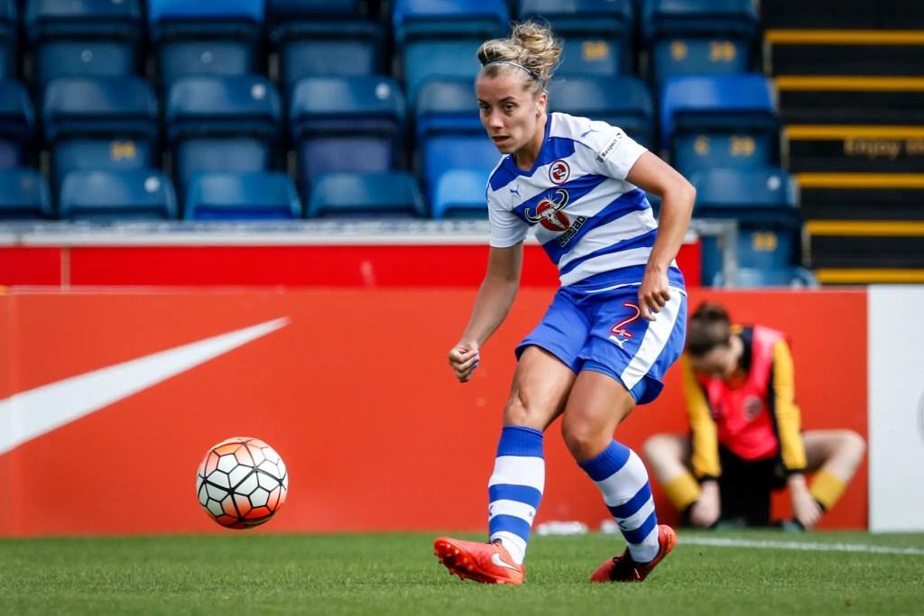 Rebecca Jane Reading FC Women. Photo: Neil Graham.