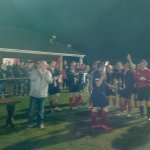 Bracknell Saint Germain lift David Scovell Goals Memorial Trophy