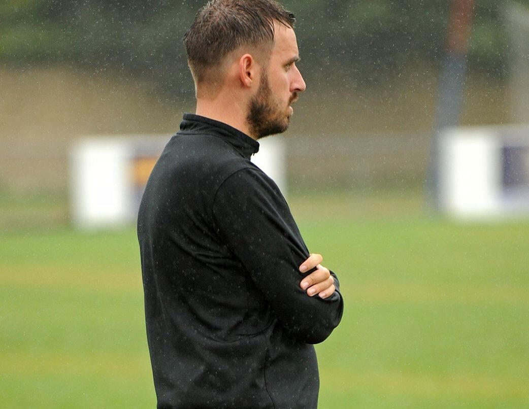 Post FA Vase interview with Woodley United FC manager Michael Herbert