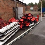 Local clubs benefitting from Bracknell Town FC seating giveaway
