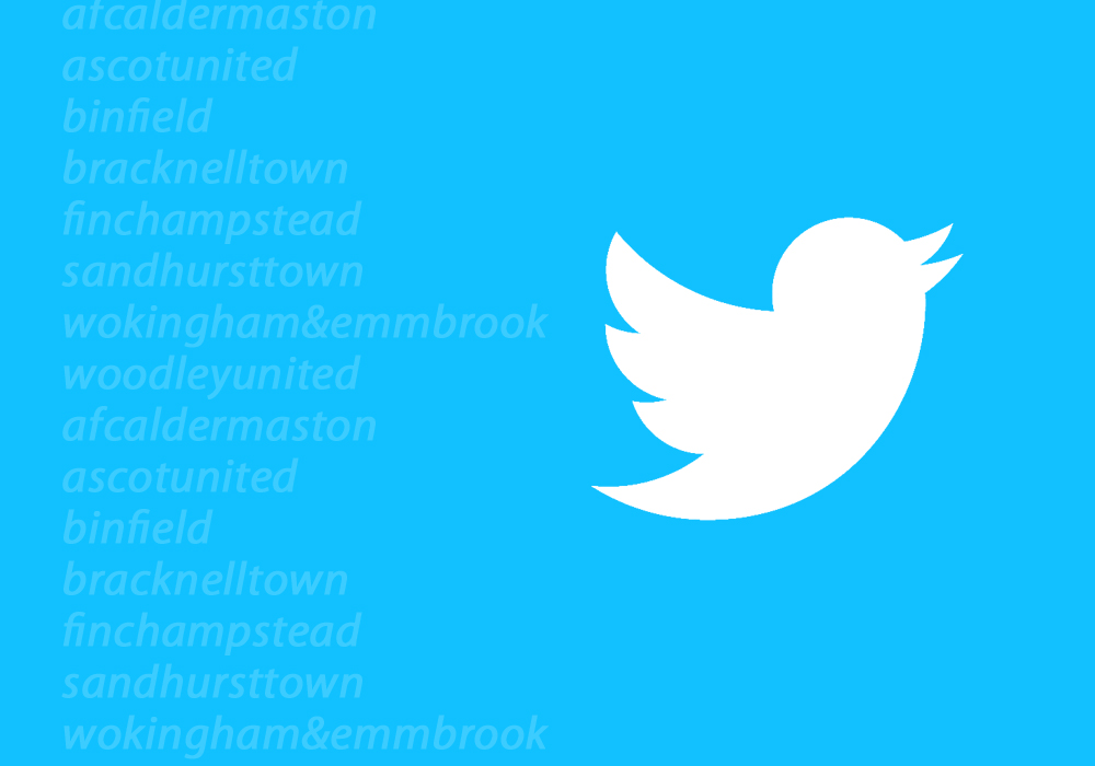 Stay up to date with our Berkshire football club twitter accounts